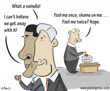 obama, bibi kerry swindle