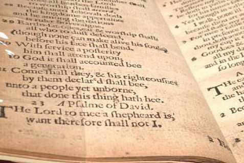 The 23rd Psalm in the Bay Book of Psalms, sold for $14.2 million.
