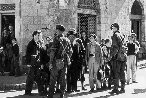 In Nov., 1947, British withdrawal from Palestine began. Now America is proposing taking over supervising the Jewish-Arab peace. Good luck!