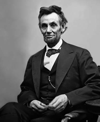 Last photo of Abraham Lincoln