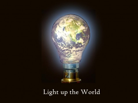Light up the world copy