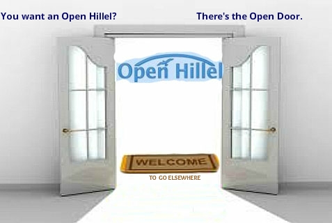 "The ""Open Hillel"" movement chafes at Hillel's guidelines"