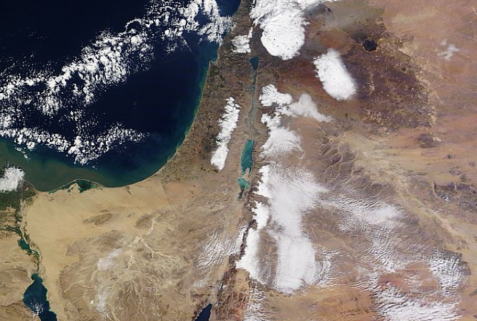Satellite_Snow_Israel