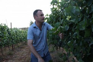 Energetic founder and chief executive of Psagot Winery Yaakov Berg.