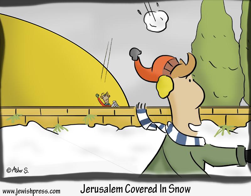 jerusalem snow