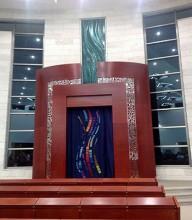 New Synagogue at Netzer Hazani-Yesodot home of Anita Tucker