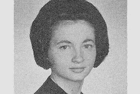 Janet Yellen's NY public high school picture