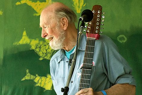 Pete Seeger, who died on Monday, supported BDS more than Israel.