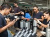 Arab workers at SodaStream's factory in Maaleh Adumim.