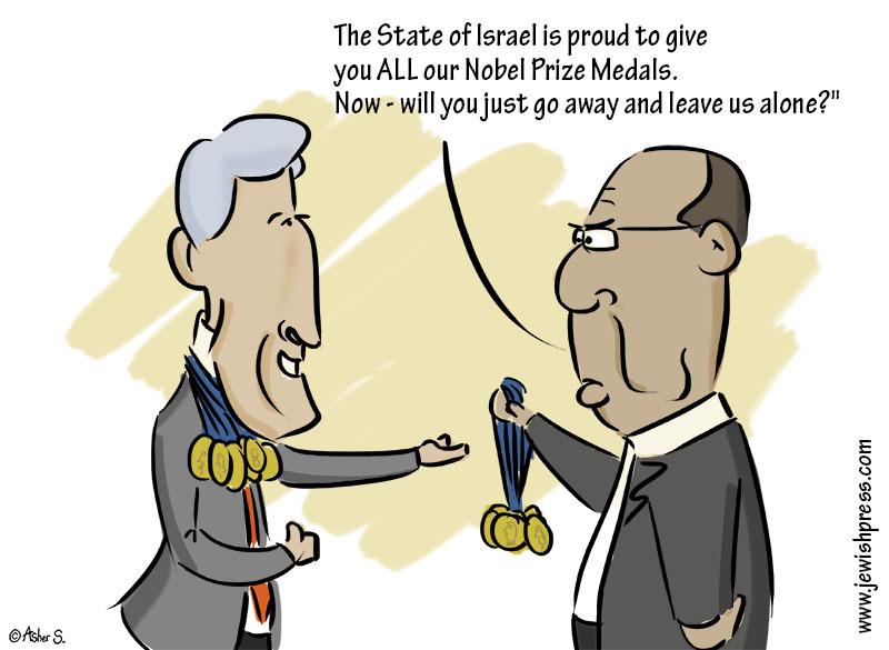 Yaalon Kerry Nobel Prize