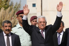 Abbas is waiting for the end of John Kerry's nine-month exercise in futility to start another exercise in futility.