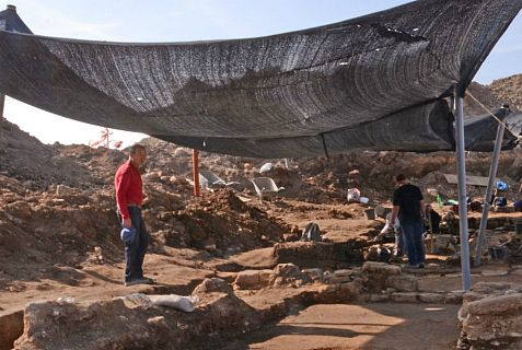 Site of 1,500-year-old church and mosaic discovered north of Be'er Sheva.