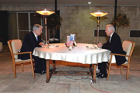 Bibi and Biden, January 13, 2014.