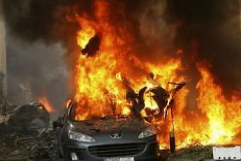 Hezbollah gets a taste of its own medicine with the second suicide car \bomb attack in a week in its stronghold in Beirut.
