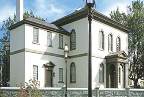 The Touro Synagogue in Newport, Rhode Island
