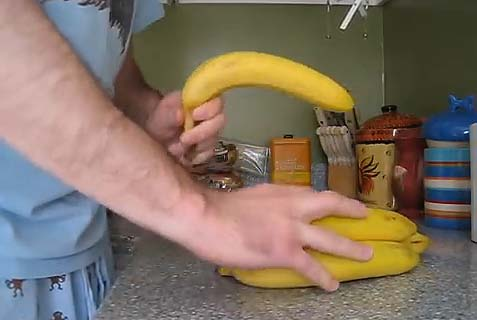 Peel a Banana Like a Monkey