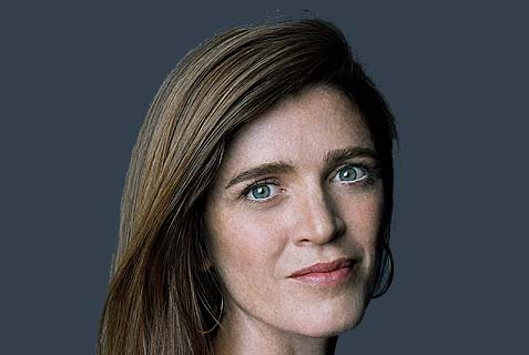 U.S. Permanent Representative to the United Nations Samantha Power and her boss in the State Dept. are just not very smart. Powerful and tenacious, yes. Intelligent – really not.