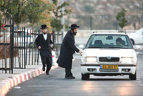 hitchhiking haredim