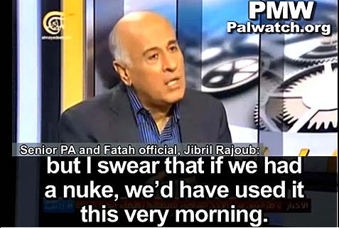 Jibril Rajoub, a member of the Fatah Central Committee and former commander of the Palestinian security forces.