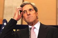 "Secrétaire d'Etat américain John ""Poof"" Kerry"