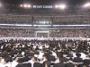More than 90,000 people packed MetLife Stadium in New Jersey for the Siyum HaShas, celebrating the completion of the Daf Yomi page-a-day Talmud study cycle, Aug. 1, 2012.