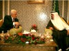 Acting PA leader Mahmoud Abbas meets with Saudi King Abdullah in Riyadh