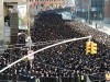 Tens of thousands of Orthodox Jews gathered in Manhattan Sunday for  a prayer rally to protest legislation in Israel that would draft yeshiva students into the IDF.