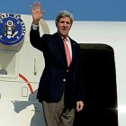US Secy of State John Kerry will soon be on his way to London to meet with PA Chairman Mahmoud Abbas.