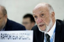 Richard Falk, FORMER  United Nations Human Rights Council's Rapporteur on the Palestinian Territories.