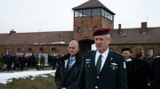 Chief of Staff Gantz at Auschwitz.