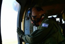 IDF Crew Chiefs on Elite Helicopter Mission. Jan. 13, 2014