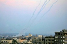 Rockets launched from Gaza were aimed at southern Israel incessantly over the Passover holiday. (archive photo)