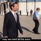 Former MK Moshe Feiglin, one of the 0.3 percent of Jews who visited the Temple Mount last year.