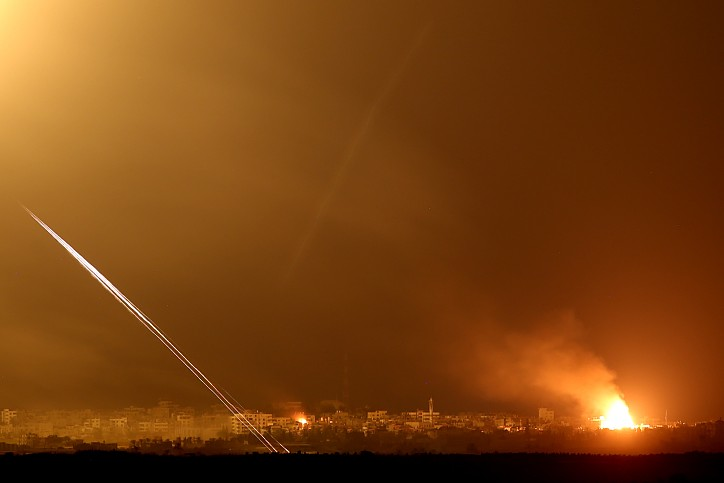 Palestinians in Gaza fire rockets at Israel: Army