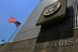 U.S. Embassy in Tel Aviv, Israel.