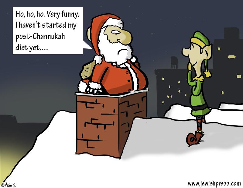 Santa Chanukah Diet