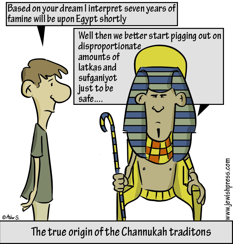 pharoah chanukah