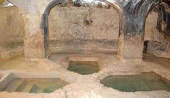 Ancient mikvah in Syracuse