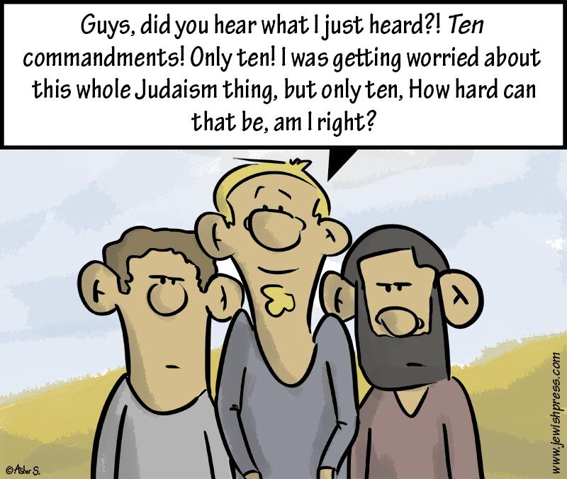 Only Ten Commandments