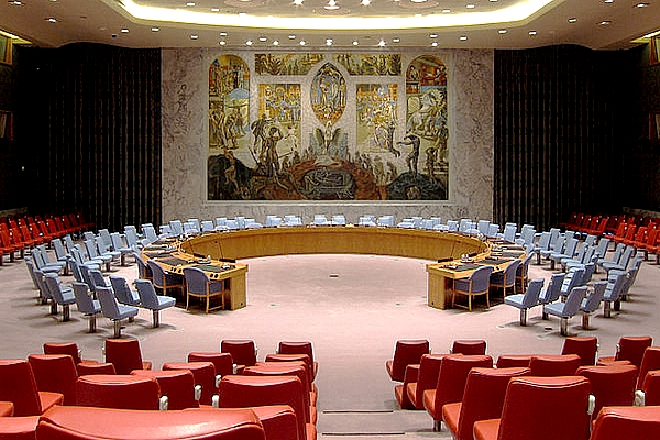 Anti-Israel United Nations Security Council Chamber