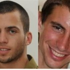 Oron Shaul, Hadar Goldin, both murdered in Operation Protective Edge by Arab terrorists from Gaza and their bodies were stolen by Hamas.