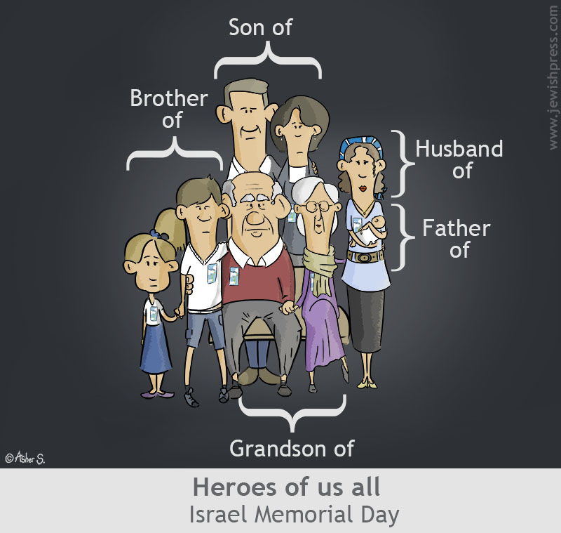 yom hazikaron Family