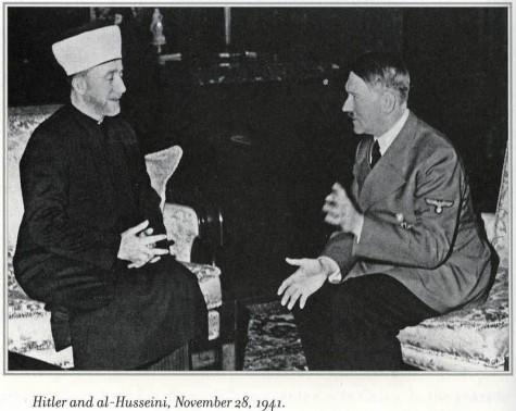Husseni and Hitler
