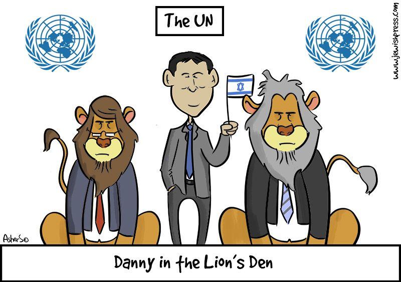 Danny in Lion's Den
