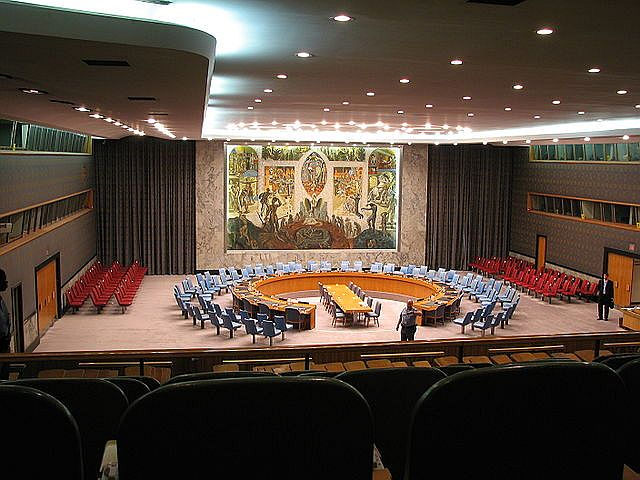 Chambers of the United Nations Security Council, 2006.