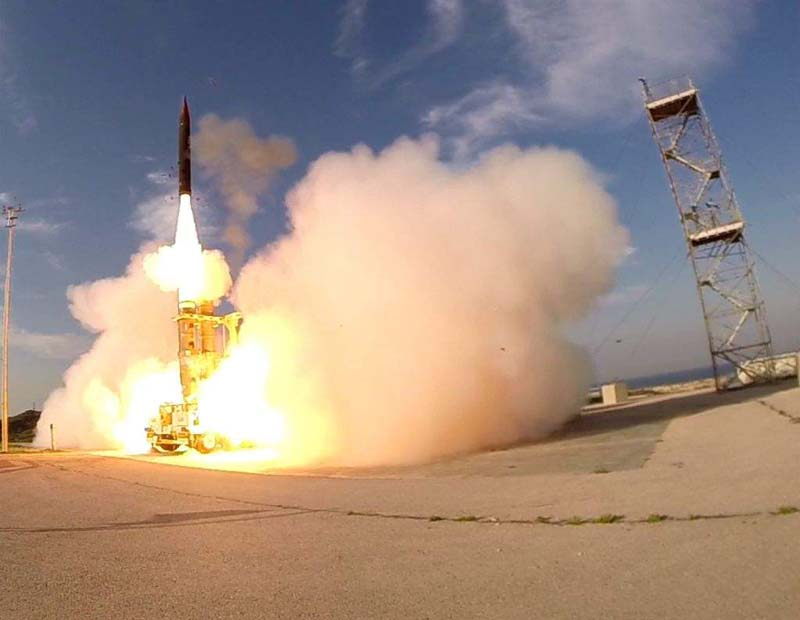 Israel Successfully Tests State-of-the-Art Arrow 3 Missile Defense System