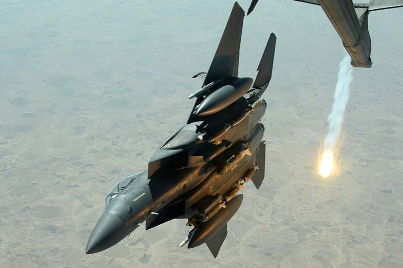 AIrstrike in response to rocket attack from Syria — Israeli military