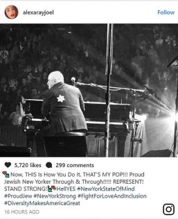 Alexa Rae instagram about her father Billy Joel