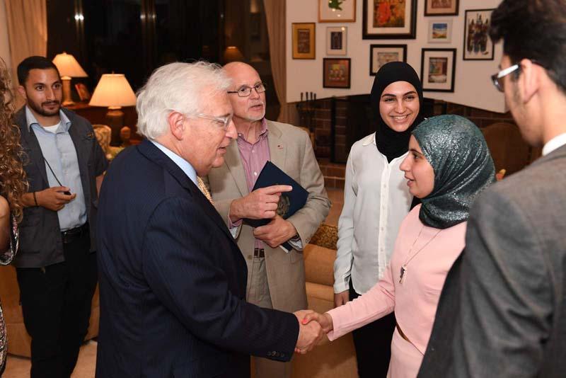 Ambassador Friedman Meets J Street, Democratic Congressmen