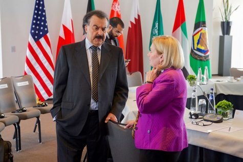 Assistant Secretary PattersonSpeaks with Kuwait Deputy Foreign Minister